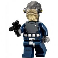 Lego Star Wars Rogue One: Admiral Raddus - Minifigure